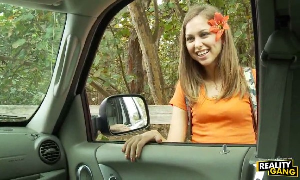Riley Reid - Riley Reid Wants a Hot Rod! (TeenHitchhikers/RealityGang/HD)