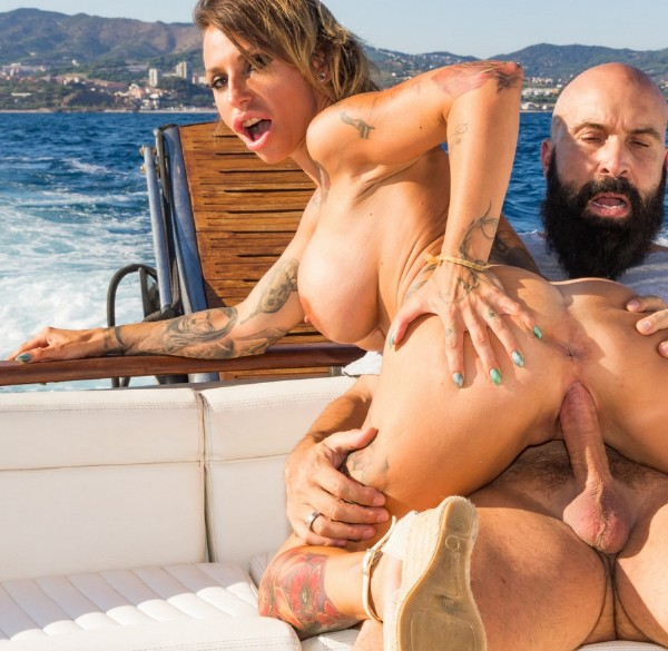 Gina Snake - Busty Spanish Milf Gina Snake gets fucked on a boat by Max Cortes (2017/ChicasLoca/PornDoePremium/HD)