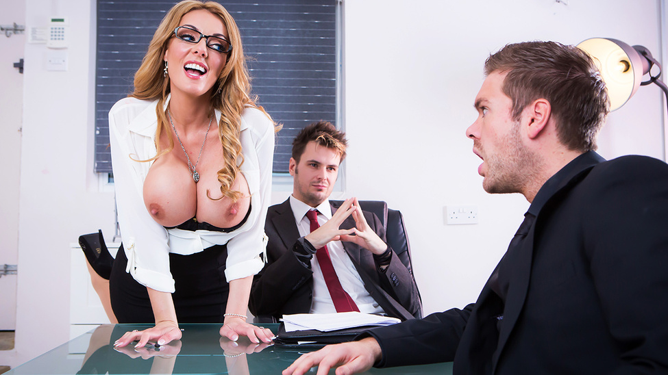 Stacey Saran - The Firm and the Fanny (BigTitsAtWork/Brazzers)