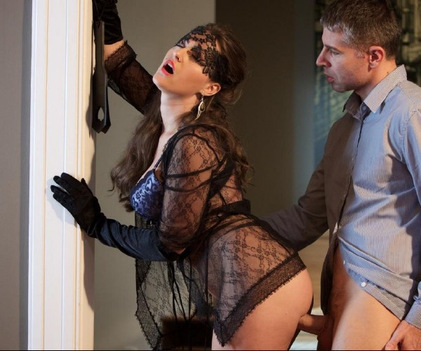 Kendra Star - Erotic fetish fuck with playful brunette Czech stunner Kendra Star (XXXShades/PornDoePremium/SD)