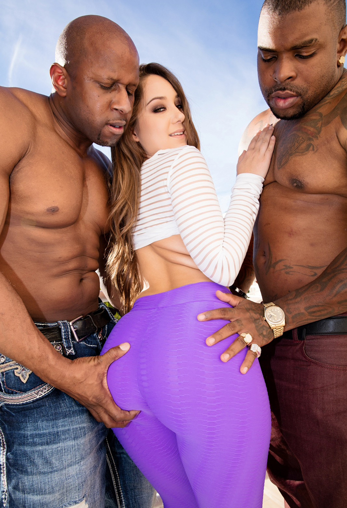 Remy Lacroix - Remy Lacroix Dpd, Her Ass Gets Owned By Two Big Black Cocks (JulesJordan)