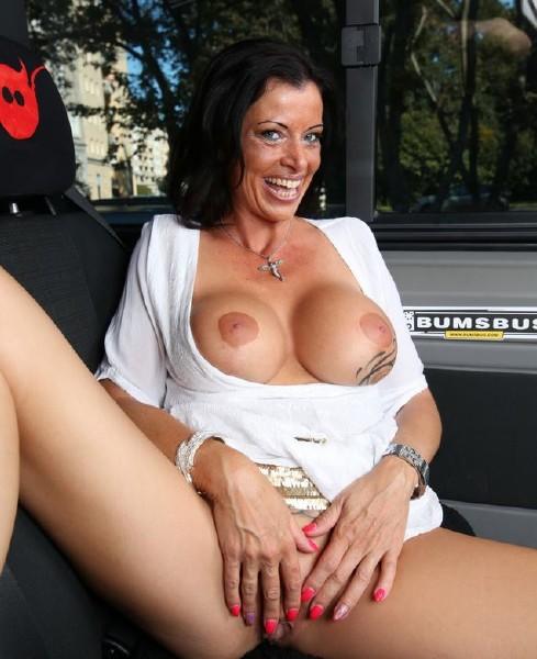 Dacada - Slutty German MILF Dacada gets cum on tits in raunchy bus fuck (2017/BumsBus/PornDoePremium/SD)
