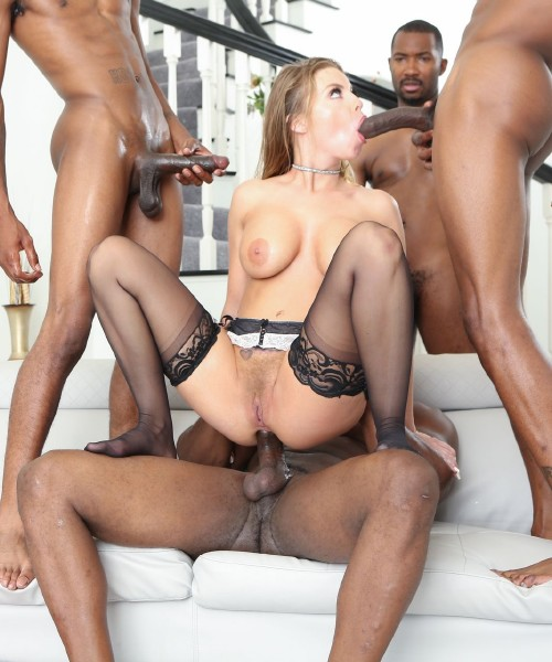 Britney Amber - Blacked Out 8, Scene 2 (2017/DevilsFilm/1080p)