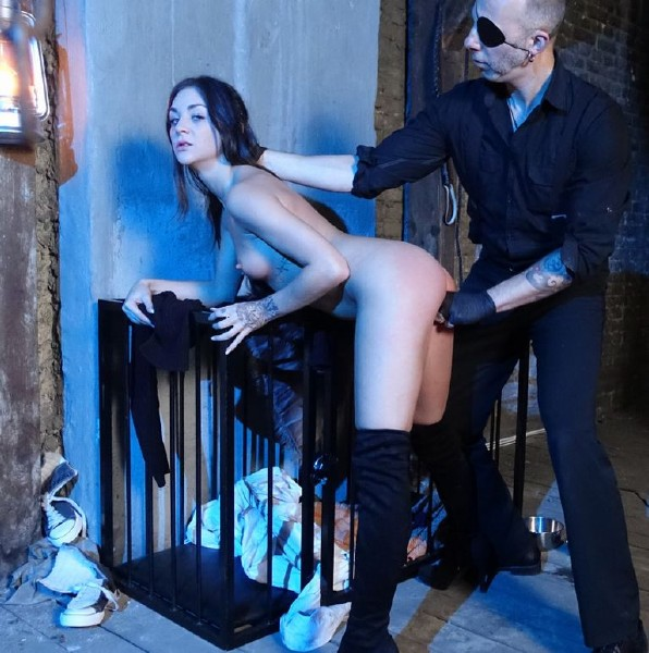 Lullu Gun, Smorlow, Lady Cosima - Hot German dominatrix Lady Cosima dominates submissive slave babe PT 2 (2017/BadTimeStories/PornDoePremium/SD)