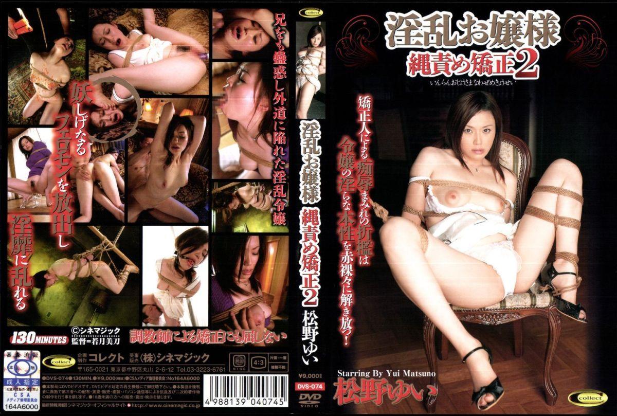 DVS-074 淫乱お嬢様 縄責め矯正 2 130分 Rape 凌辱