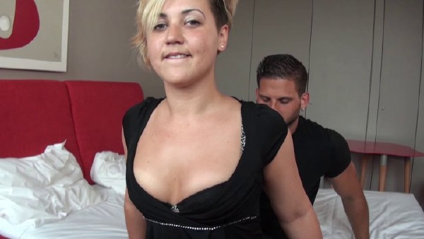 Celia Cheyenne - Sextape of an unfaithful chubby young mother in need of cock getting screwed up like a dog with a good jizz in mouth (2017/NudeInFrance/SD)