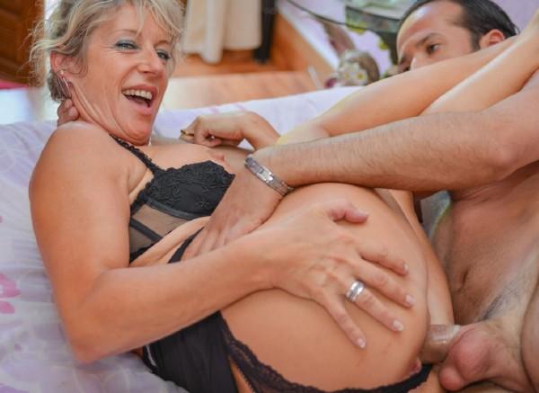 Marina Beaulieu - Mature French newbie gets cum covered in hot hardcore fuck (LaNovice/PornDoePremium/SD)