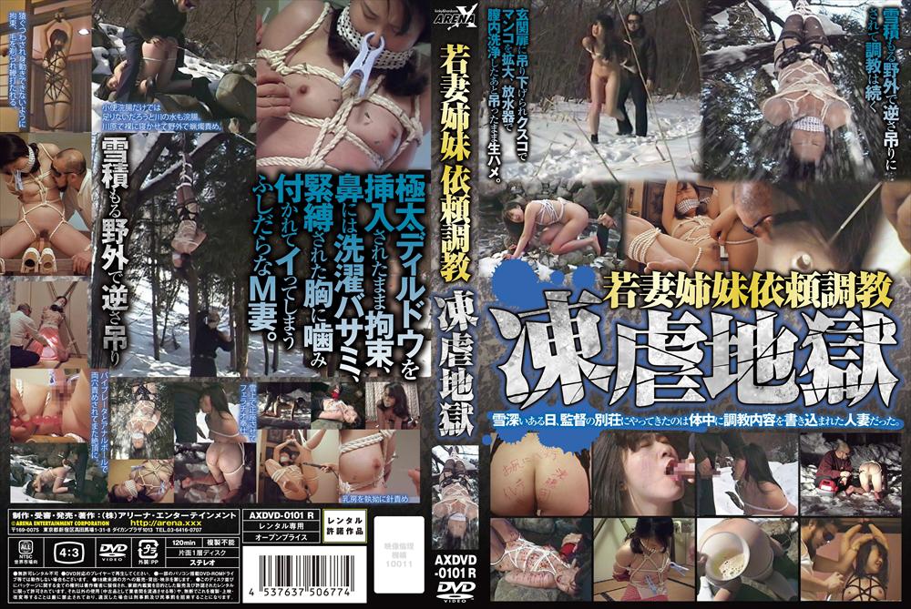 AXDVD-0101R 若妻姉妹依頼調教 凍虐地獄 ARENA X SM Rape