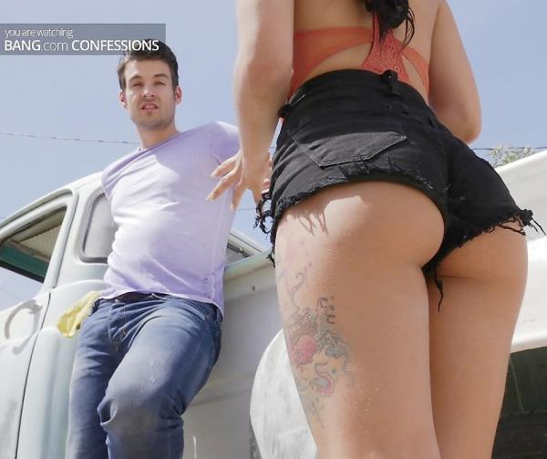 Gina Valentina - Gina Valentina Gets All Her Parts Used At The Junkyard (BangConfessions/Bang/2017/1080p)