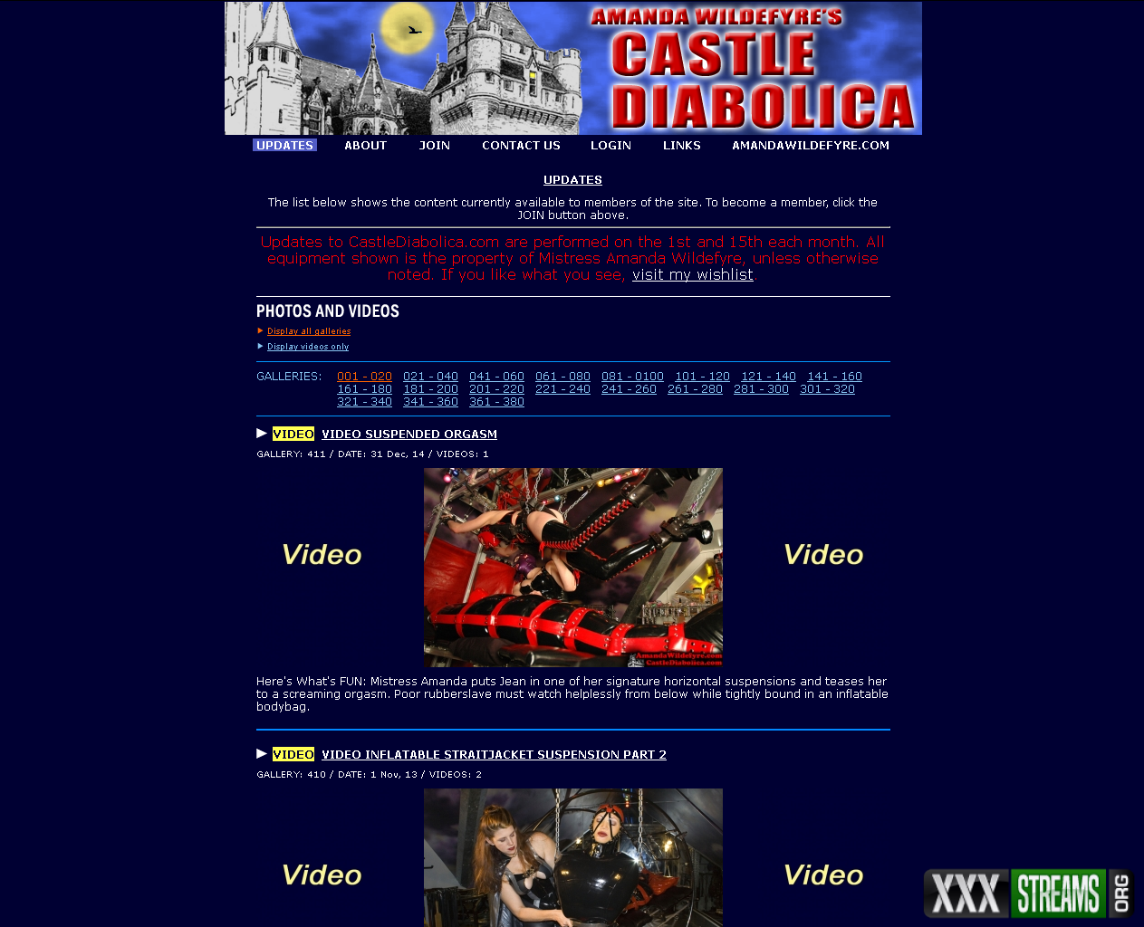 CastleDiabolica.com – Siterip