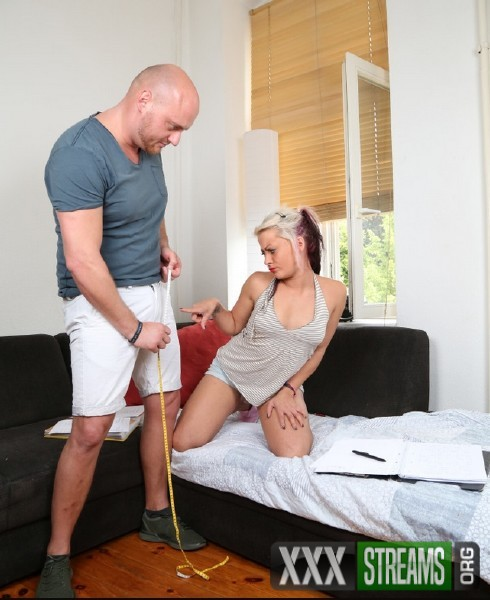 BJ Cat - Amateur German babe gets facial in first time porn scene with Mark Aurel (2017/BumsBesuch/PornDoePremium/HD)