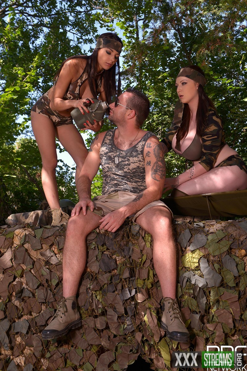 Harmony Reigns, Sophia Laure - Busty Commando Team Some Hardcore Mission Objectives (DDFNetwork)