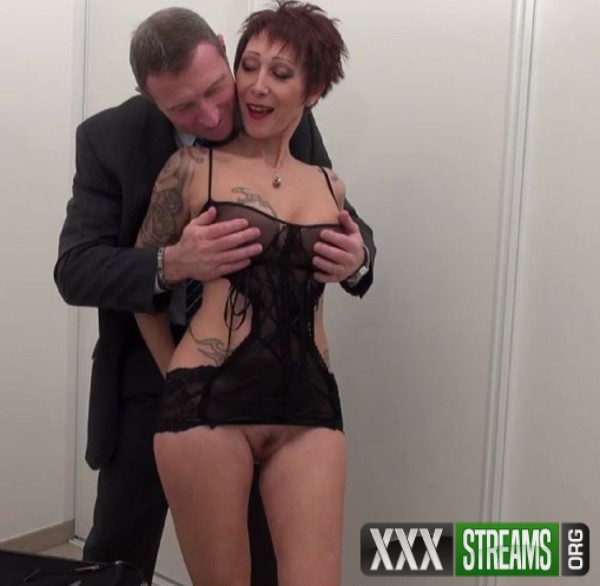 Catalya - A stunning tattooed big titted housewife mom hard banged and sodomized with cum in mouth before her husband leaving for a party (2017/NudeinFrance/HD)