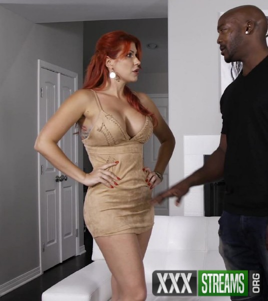 big dicked stalker gets to fuck a horny redheaded milf  71665
