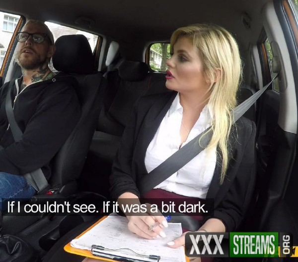 Katy Jayne - Failed test leads to back seat sex (2017/FakeDrivingSchool/HD)