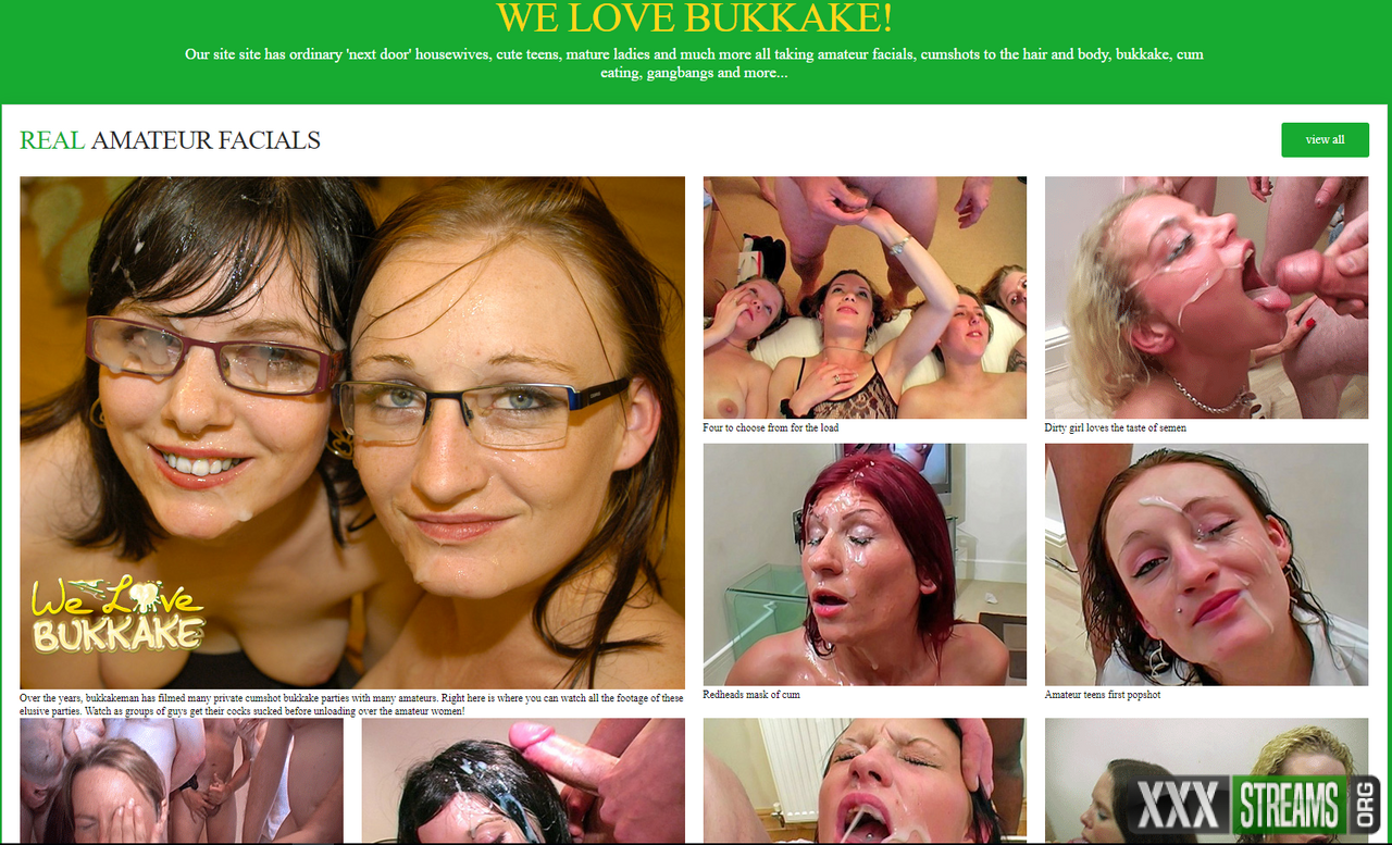 Attractively Welovebukkake xxx woman awesome