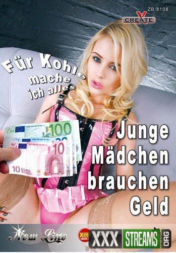 Junge Mädchen brauchen Geld