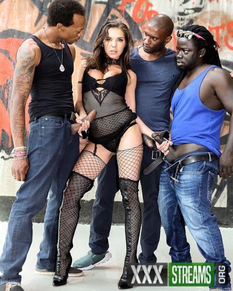 Henessy - Henessys Big Black Cock Gangbang (2017/RoccoSiffredi/HD)