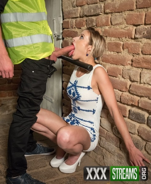 Ria Sun - Czech blondie Ria Sun eats jizz from the police in steamy Pov fuck abroad (2017/BitchesAbroad/PornDoePremium/HD)