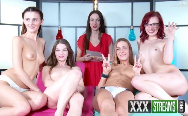 Leila, Alexis Crystal, Kiki, Kira Y, Nedda Y - OWC - Orgasm World Championship. Team Match (2017/Yonitale/1080p)