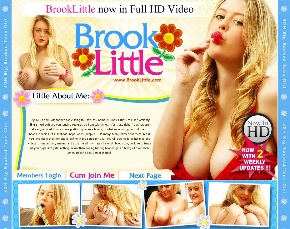 BrookLittle SiteRip / Amateur Girls / 145 vids