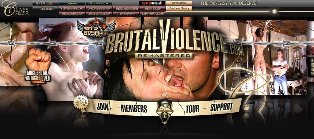 BrutalViolence SiteRip / Rape / 205 vids