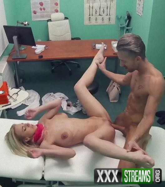 Nathaly Cherie - Deepthroat cures sweet Czech babe (FakeHospital/FakeHub/2017/SD)
