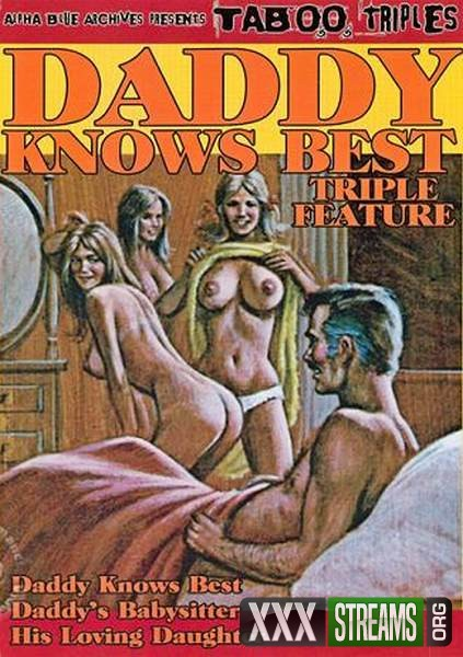 Daddy Knows Best - Triple Feature (1971/VHSRip)