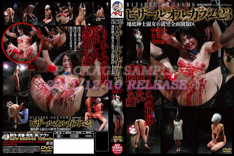 ADV-R0530 猟奇の檻  66 ビザールオルガズム ADV-SR0046 Misaki Fujiko 120分