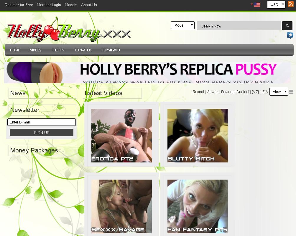 HollyBerry.xxx SiteRip / Hardcore Sex / 56 vids