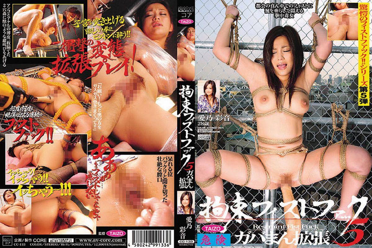 CC-133 拘束フィストファック 5 愛乃彩音 凌辱 Actress CORE