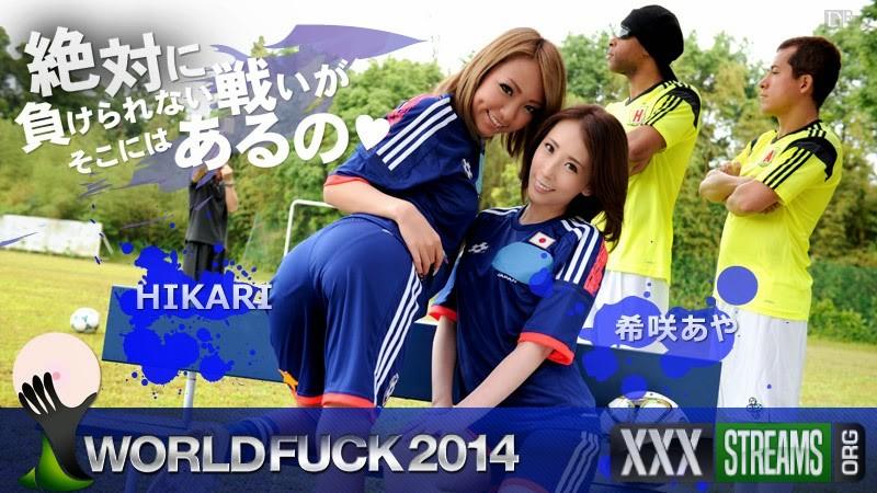 HIKARI, Aya Kisaki - World Fuck 2014