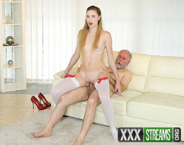 Milena Devi - Cutie joins an old man for an anal fuck (2017/OldGoesYoung/SD)