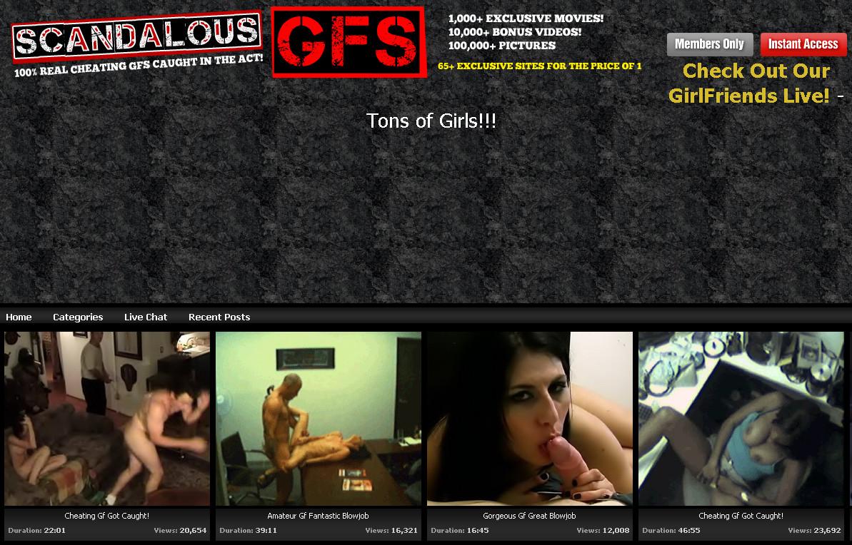 ScandalousGFS SiteRip / Porn Stars / 207 vids