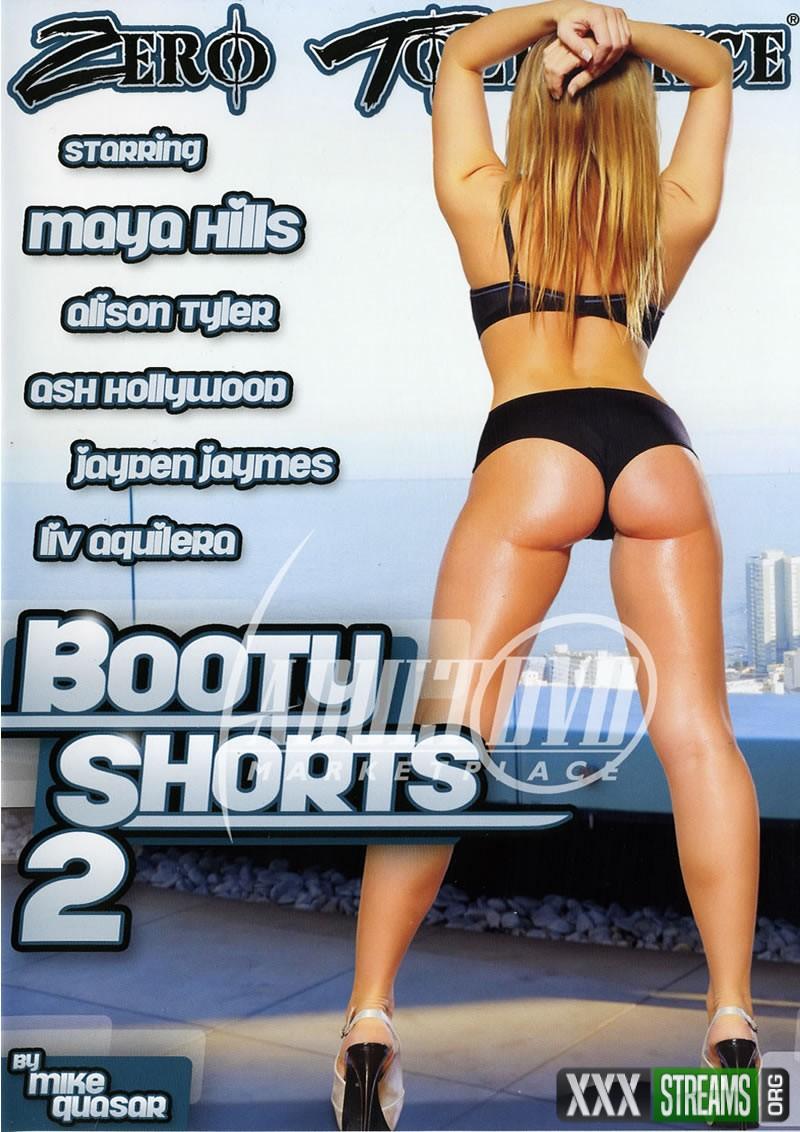 maya hills booty shorts