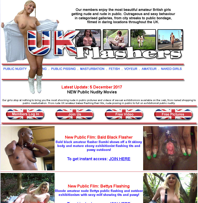 UK-Flashers.net SiteRip / Voyeur / 156 vids