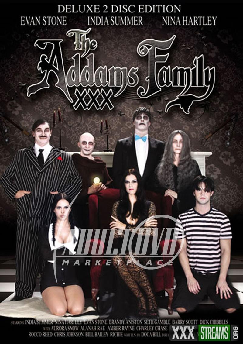 Addams Family XXX Parody