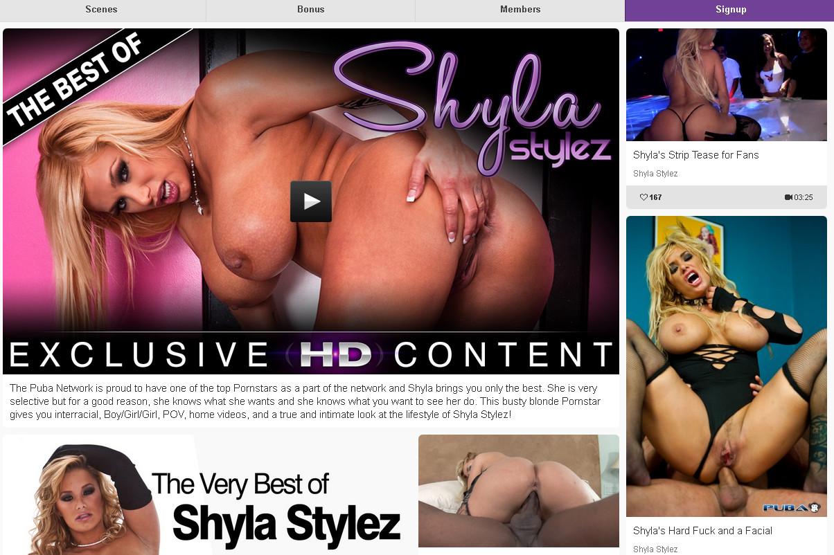 Bestofshylastylez SiteRip / Porn Stars / 45 vids