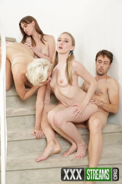 Richies Brain, Jenna Ivory, Riley Reynolds, Jay Taylor - Dirty girls looking for hard cock to cum (2017/PinkoClub/1080p)