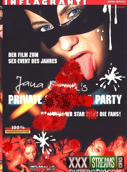 Jana Bachs Private Gang Bang Party