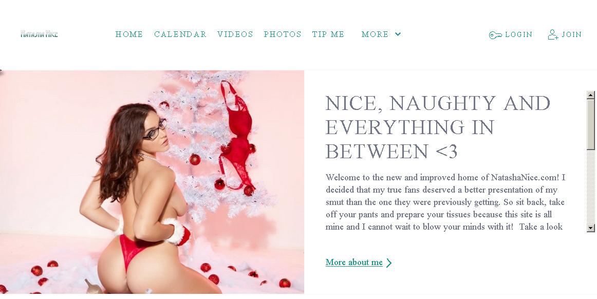 Natashanice SiteRip / Individual Models / 84 vids