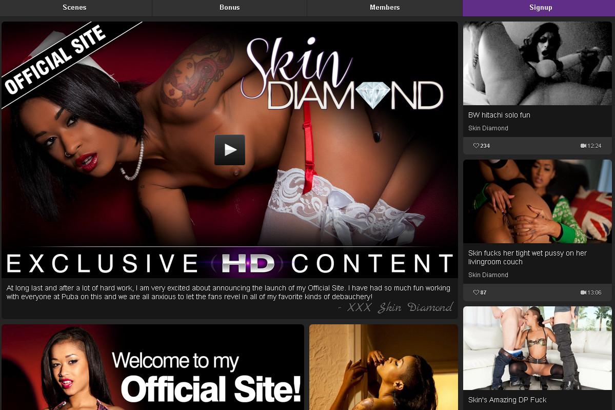 Skindiamondvip SiteRip / Individual Models / 38 vids