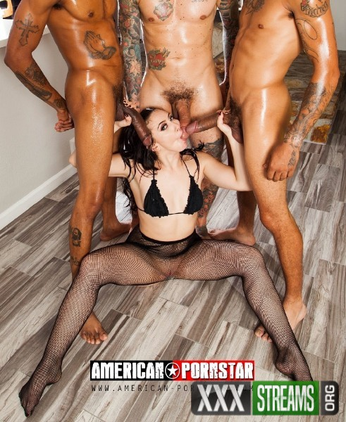 Mandy Muse - Mandy Muse 4 on 1 (2018/American-Pornstar/HD)