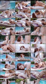 Pyper Prentice - Illustrious Redhead Gets Banged Poolside Preview