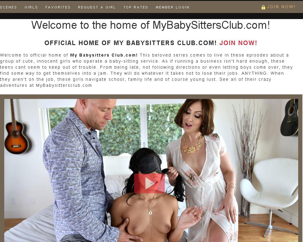 MyBabysittersClub SiteRip