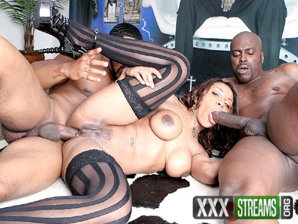 Ayana Angel - Ayana Angel and the black threesome (2018/XTime.tv/SD)