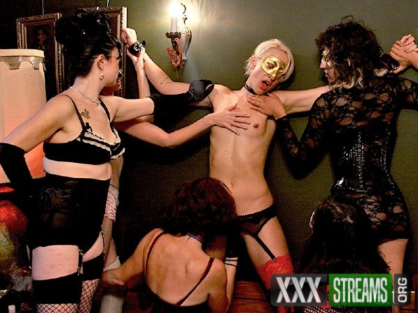 Dylan Ryan, Sadie West - Lesbian masked orgy for Dylan Ryan (2018/XTime.tv/HD)
