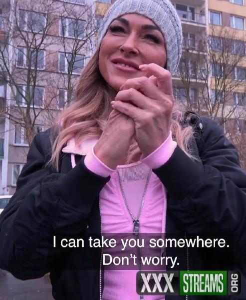 Aubrey Black - MILF with Huge Tits Sucks and Fucks (2018/PublicAgent.com/FakeHub.com/FullHD)