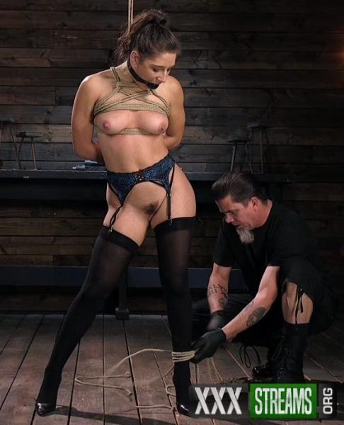 Abella Danger - Hot Body Abella Danger Disciplined and Made to Cum in Rope Bondage!! (HogTied.com/Kink.com/2018/SD)