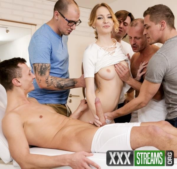 Belle Claire - 4 on 1 Creampie Gangbangs, Scene 1 (DogHouseDigital.com/2018/HD)